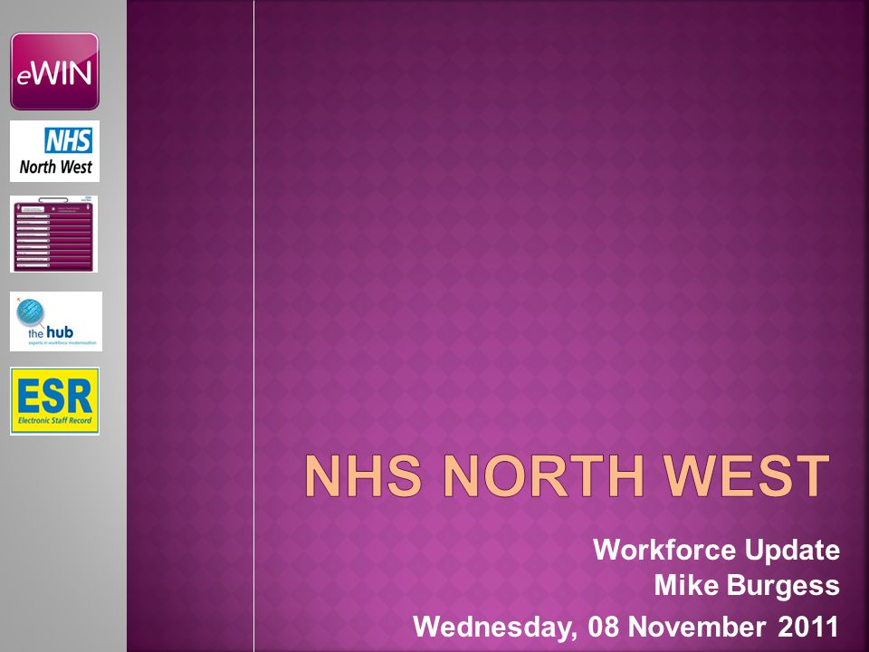 Workforce Update Mike Burgess Wednesday, 08 November 2011