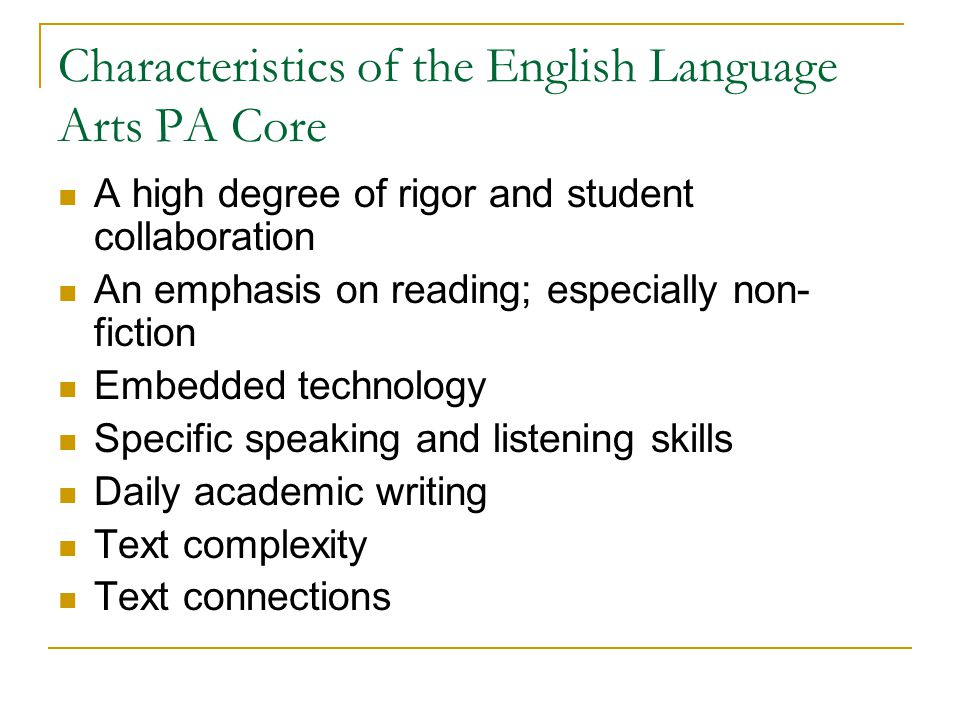 What is unique about the CCSS for literacy.