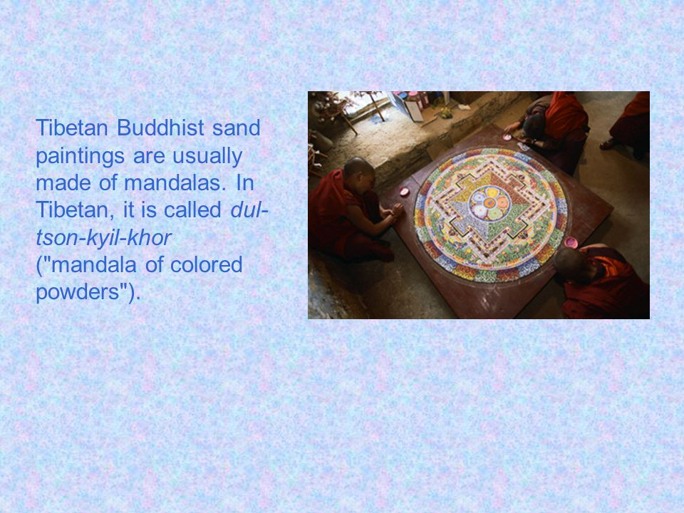 Tibetan Sand Painting By: Amanda - Grade 6