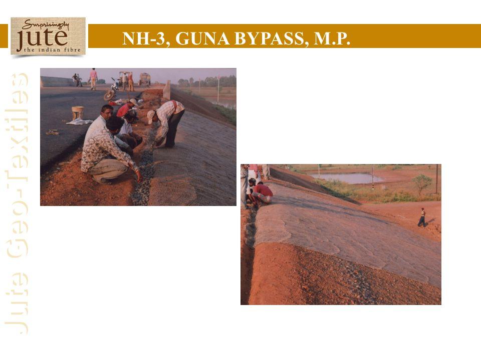Jute Geo-Textiles NH-3, GUNA BYPASS, M.P.