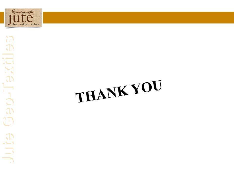 Jute Geo-Textiles THANK YOU