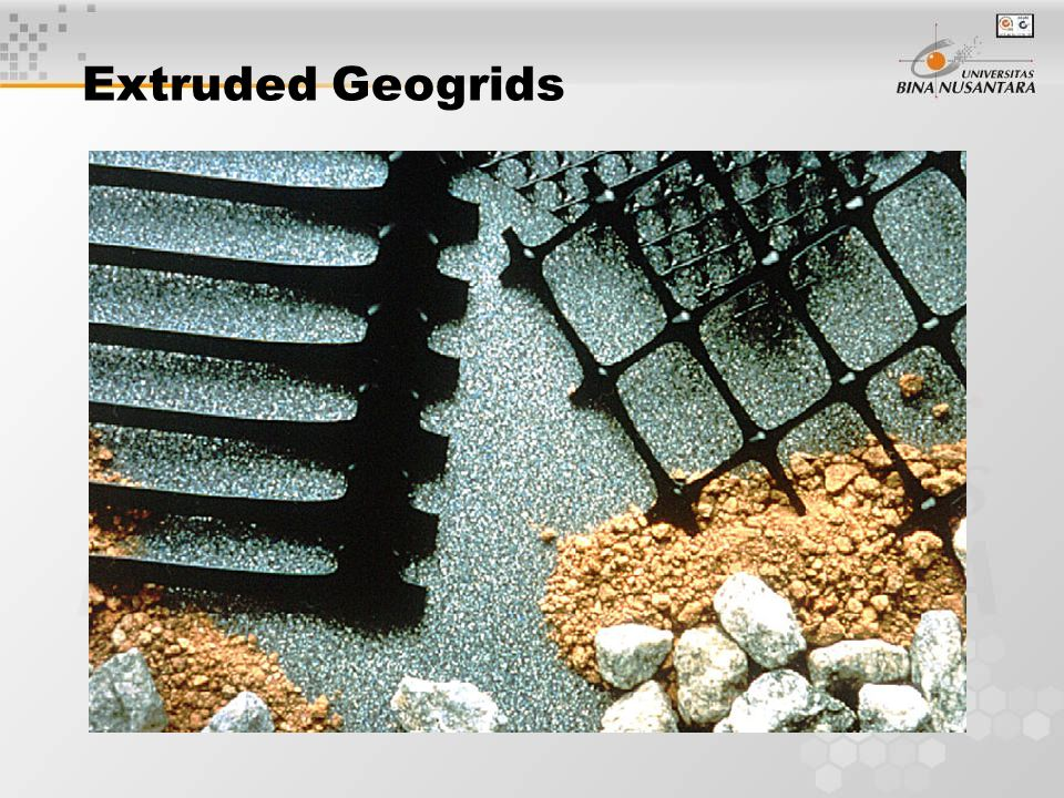 Extruded Geogrids