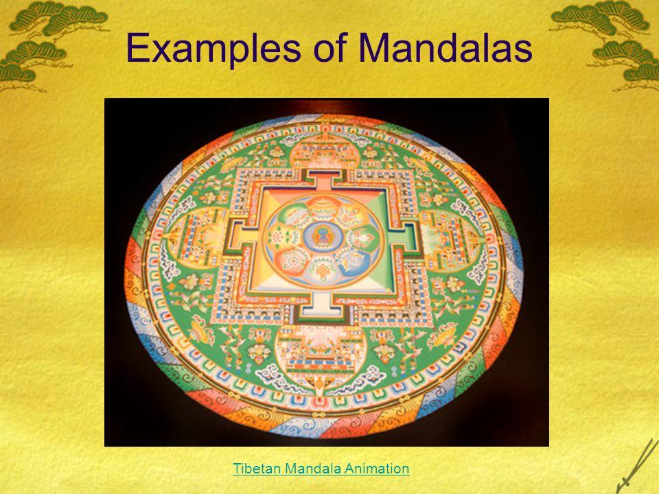 Examples of Mandalas Tibetan Mandala Animation