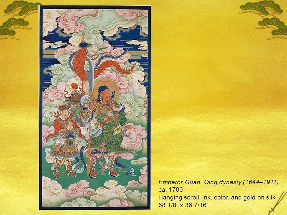 Emperor Guan, Qing dynasty (1644–1911) ca.