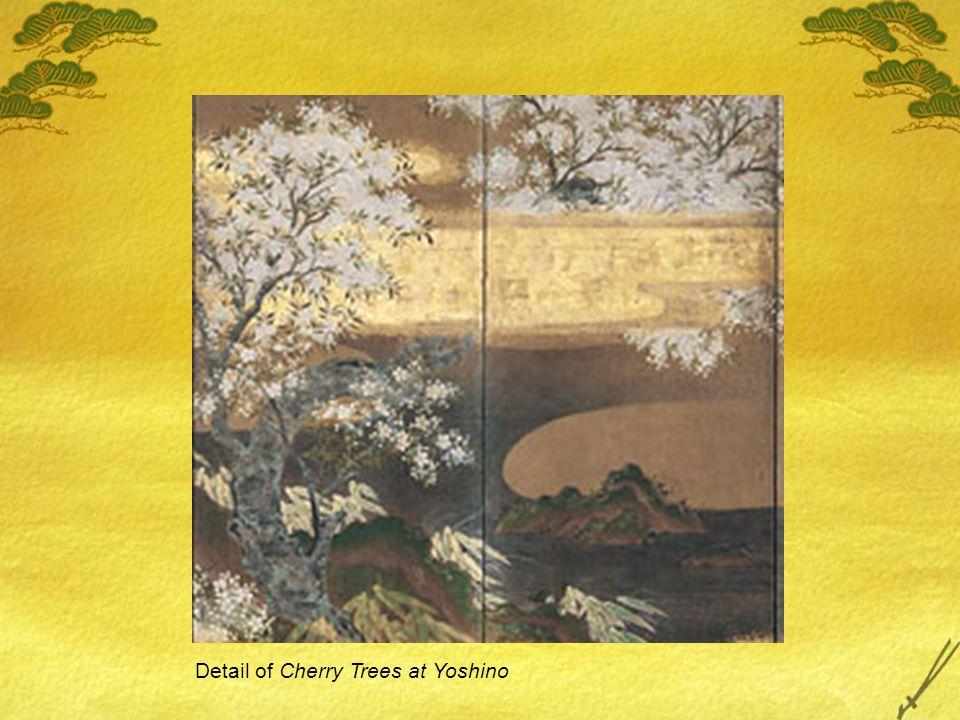 Detail of Cherry Trees at Yoshino