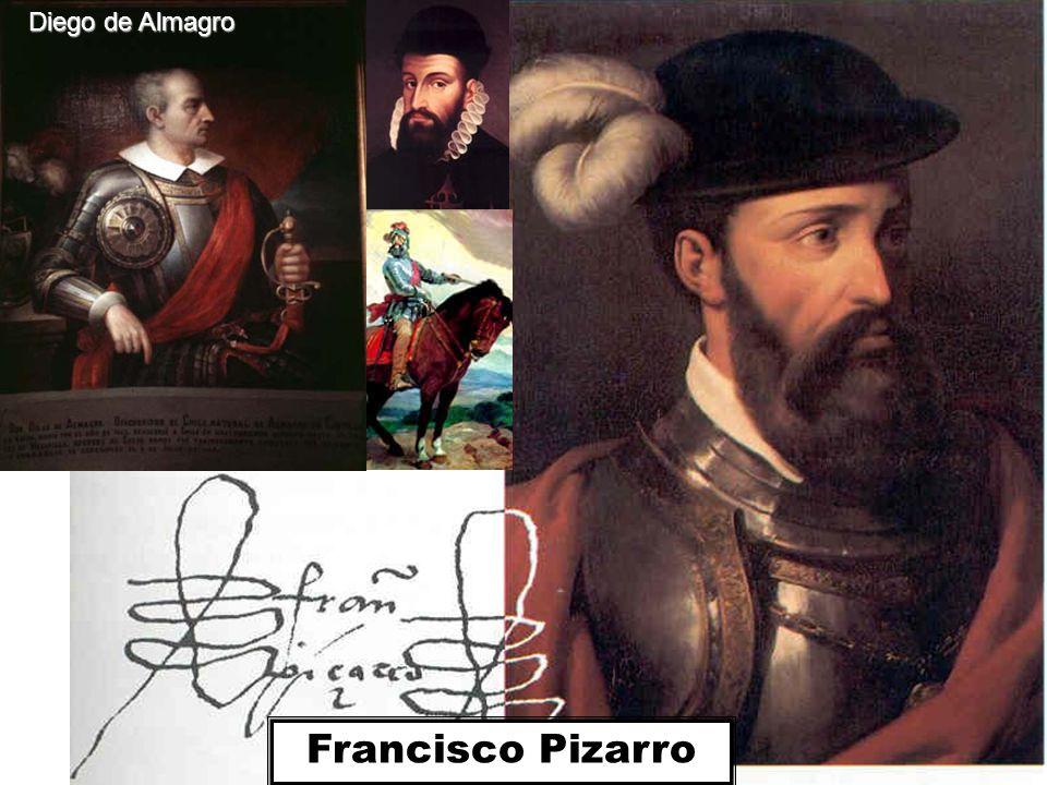 Almagro succeeded in arresting Francisco Pizarro's brothers, Gonzalo and Hernando.