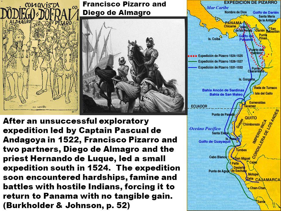 Francisco Pizarro, Hernando de Luque and Diego de Almagro sign a capitulación (contract) of conquest in Panama on May 10, 1546.
