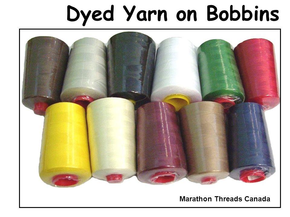 Dyed Yarn on Bobbins Marathon Threads Canada