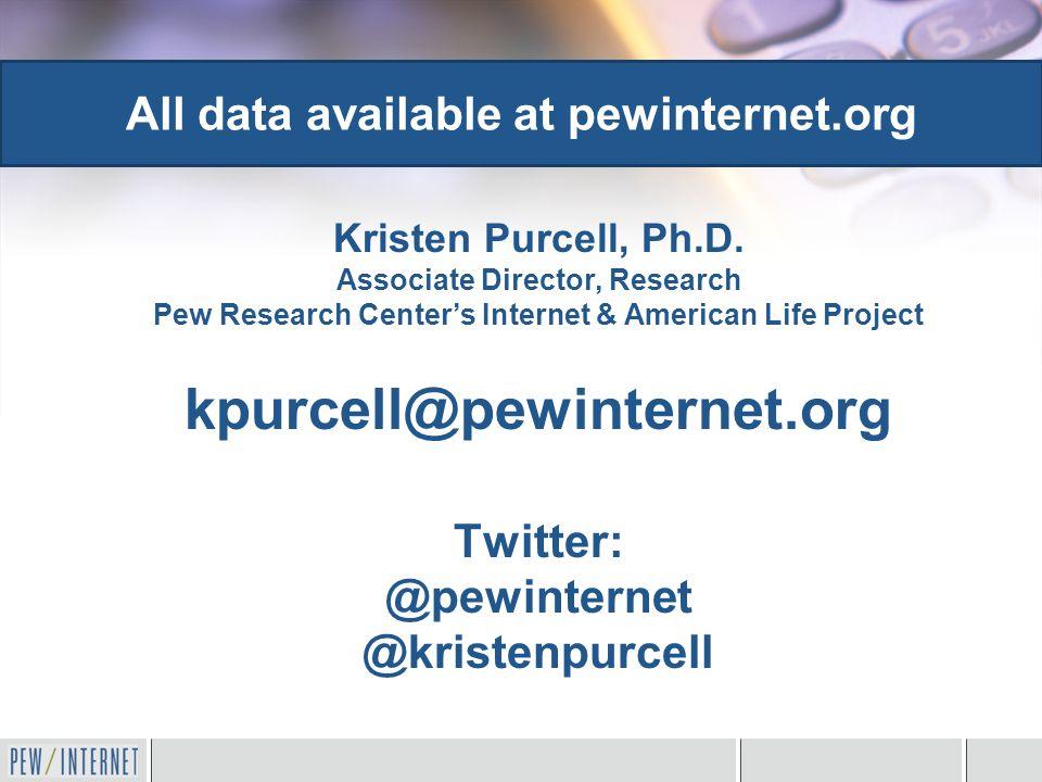 Kristen Purcell, Ph.D.
