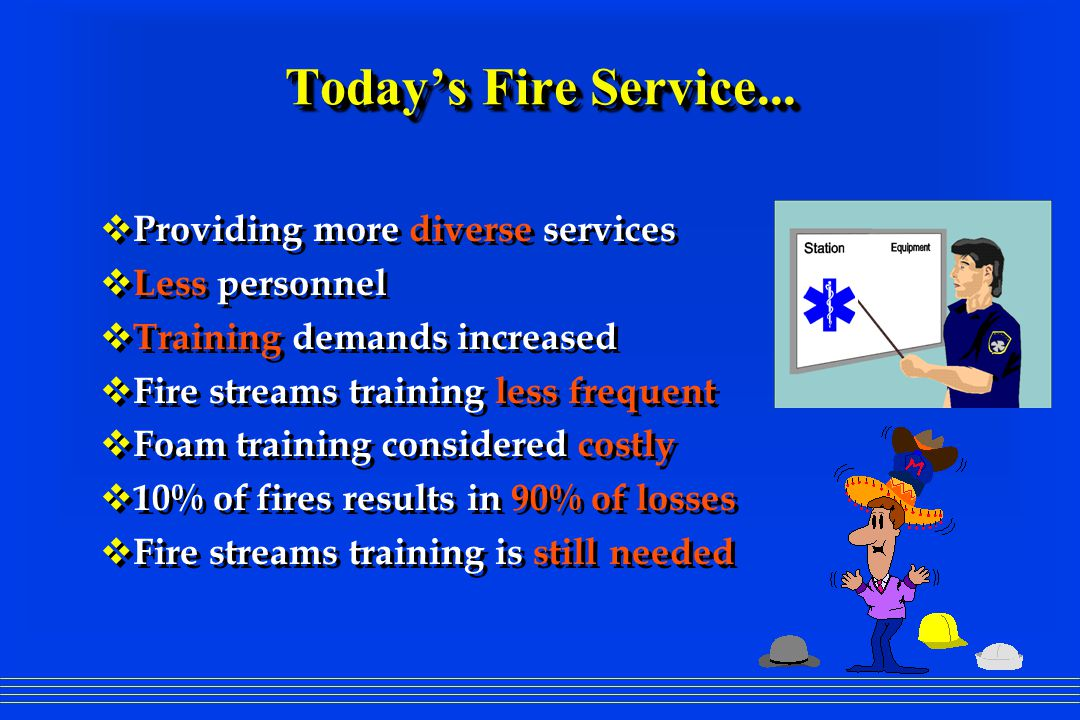 FIREFIGHTING NOZZLES and FIRE HYDRAULICS  Hand Held Stream Evolution  Fixed & Selectable Flow Nozzles  Automatic Nozzles  Valve Design  Fire Ground Hydraulics  Nozzle Pressure  Hand Held Stream Evolution  Fixed & Selectable Flow Nozzles  Automatic Nozzles  Valve Design  Fire Ground Hydraulics  Nozzle Pressure  Shaping the Fire Stream  Fog Tooth Design  Smooth Bore vs.