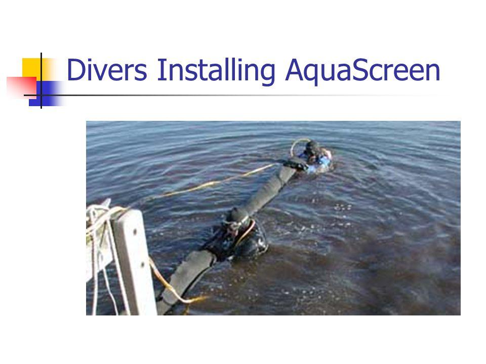 Divers Installing AquaScreen