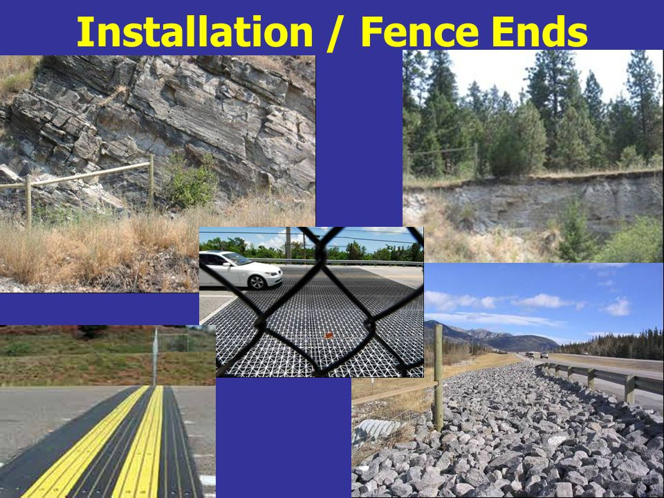 Installation / Fence Ends