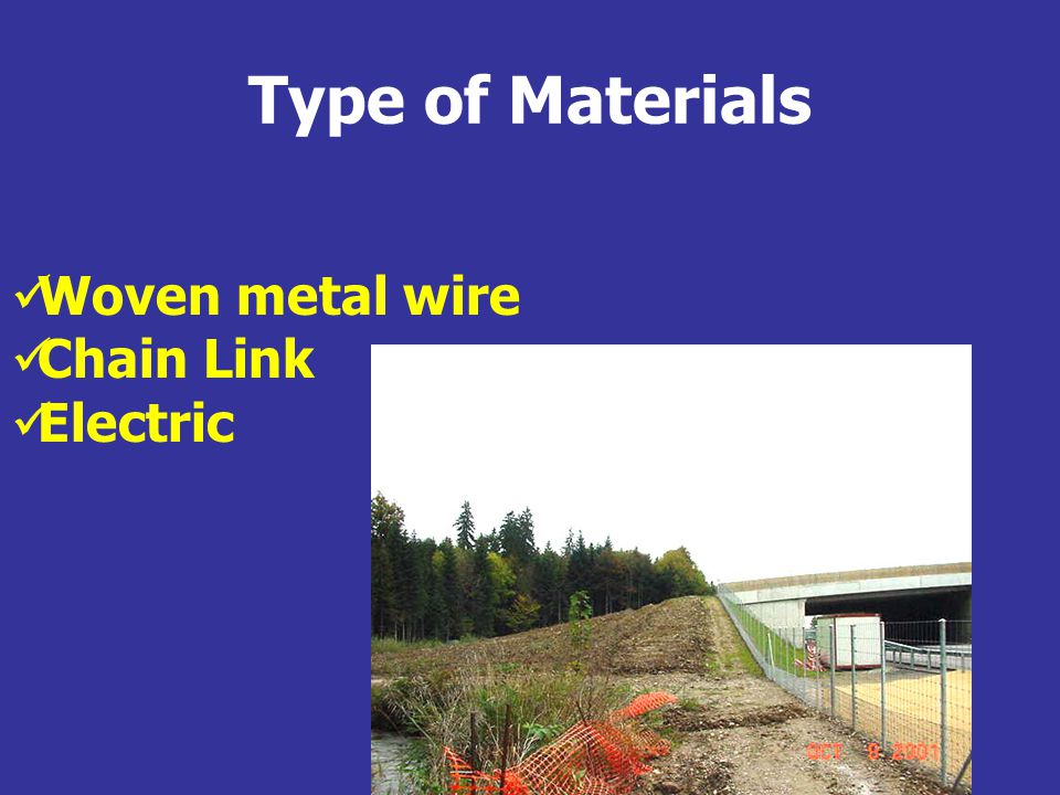 Woven Metal Wire