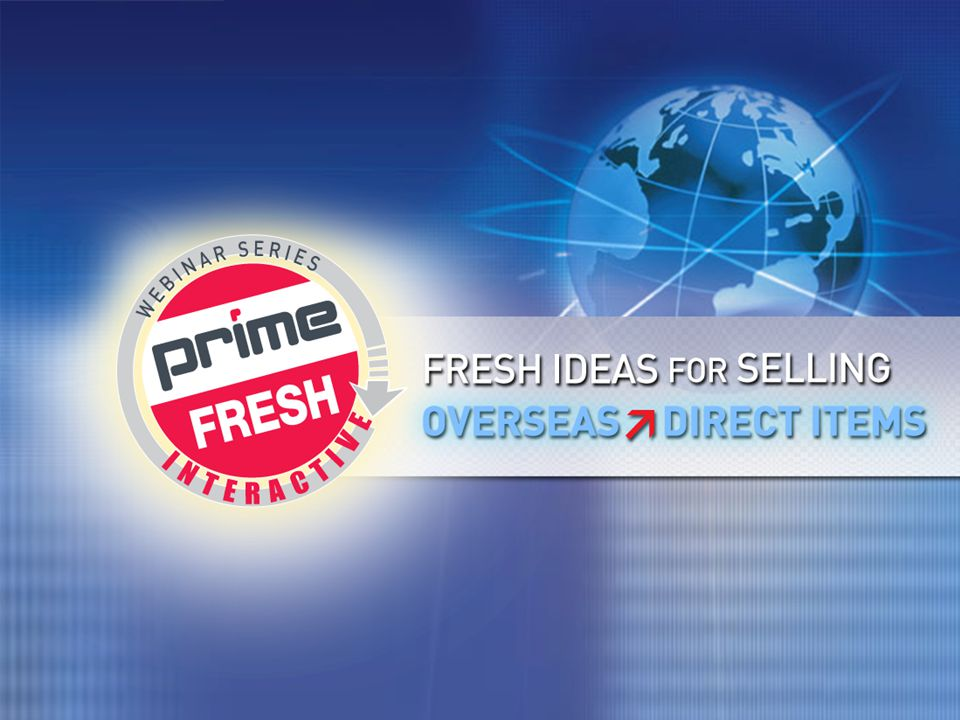 | PRIMELINE.COM | »FRESH IDEAS WEBINAR 1 1