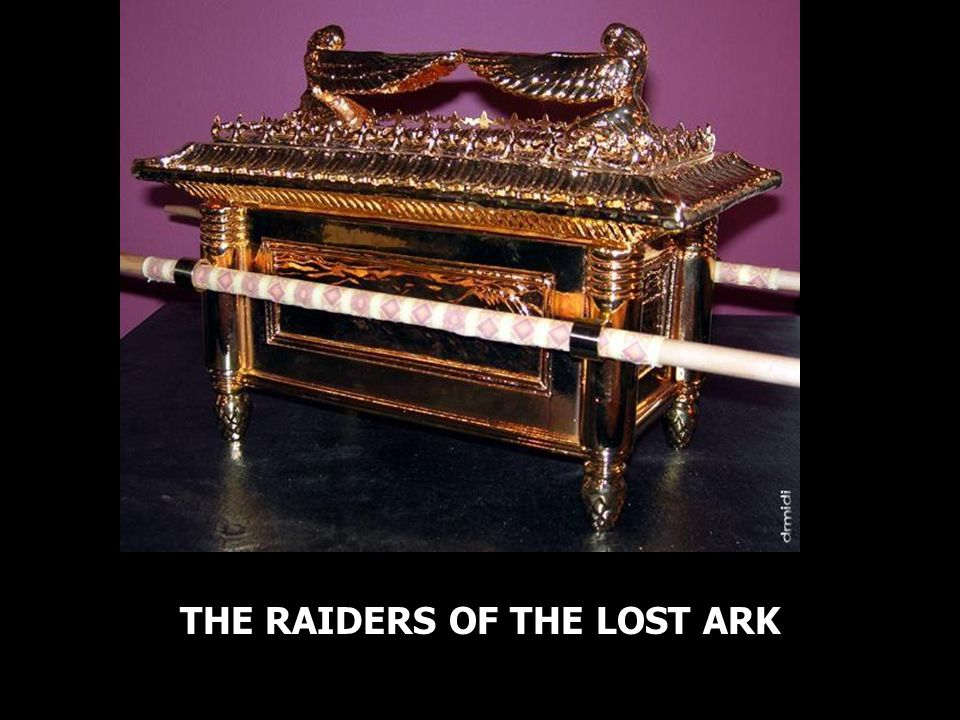 THE RAIDERS OF THE LOST ARK