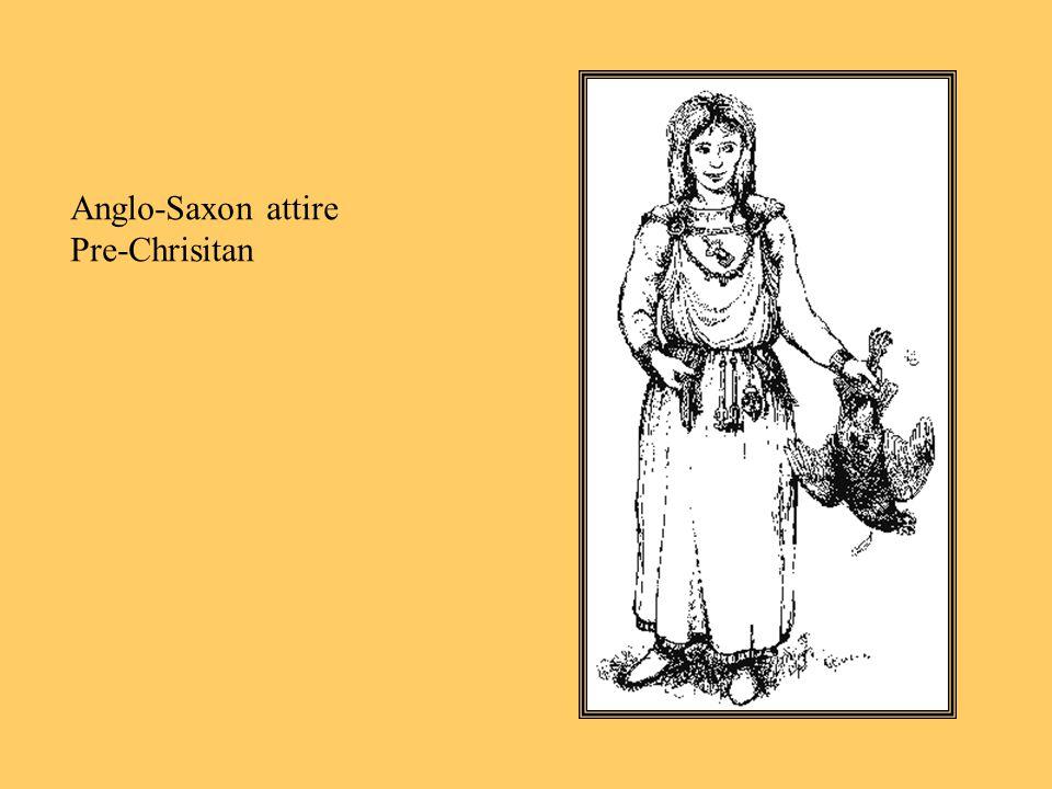 Anglo-Saxon attire Pre-Chrisitan