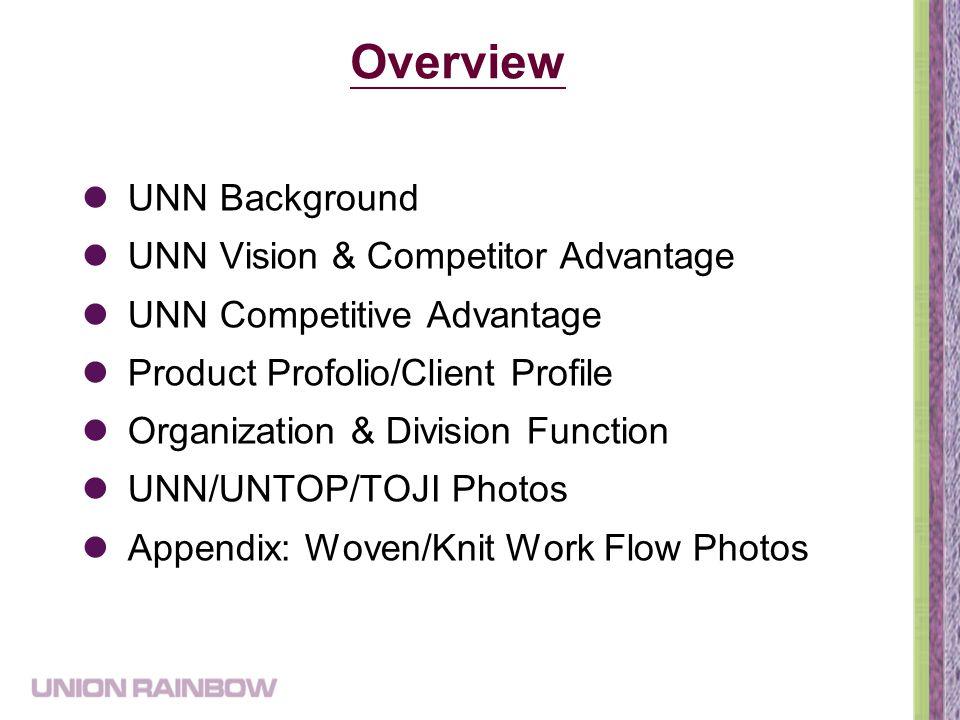 Union Rainbow Company Profile October 22. 2013