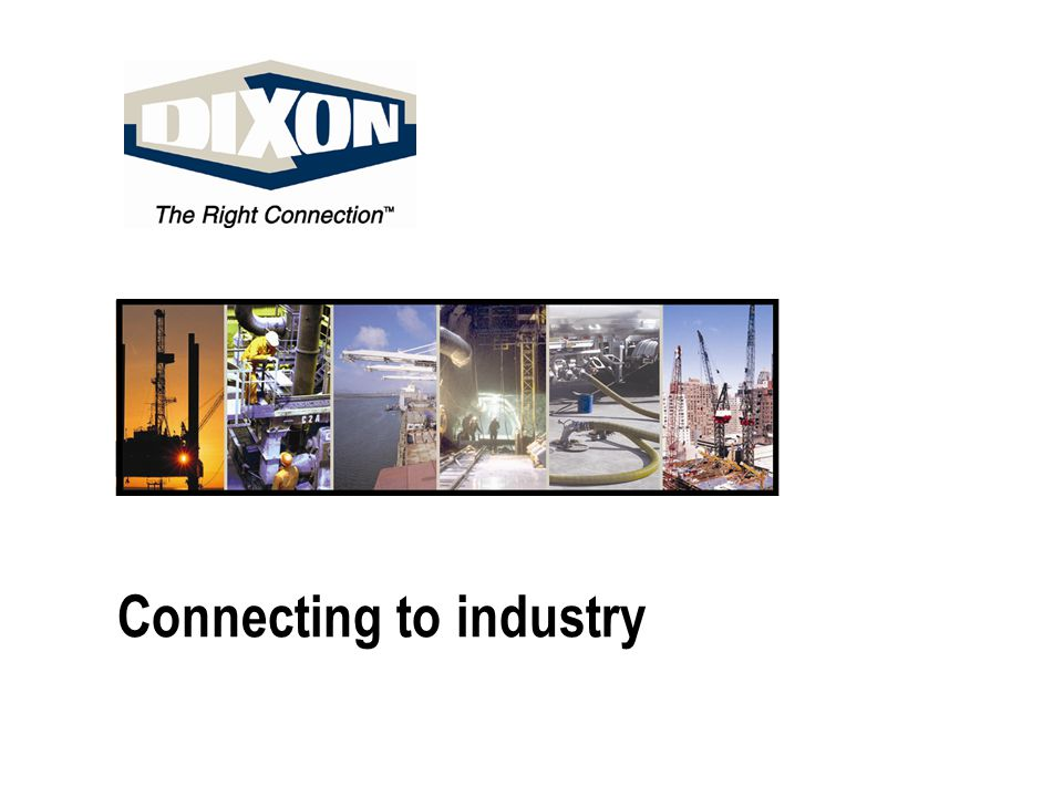Connecting to industry
