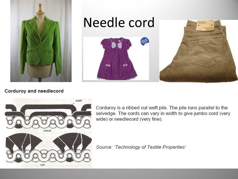 Needle cord