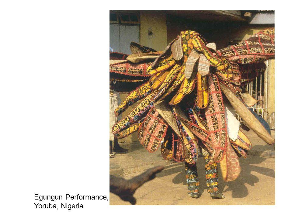 Egungun Performance, Yoruba, Nigeria
