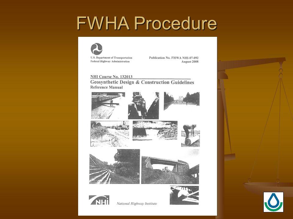 FWHA Procedure