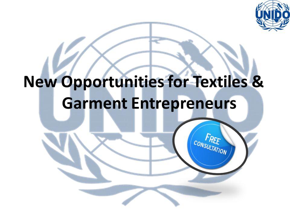 New Opportunities for Textiles & Garment Entrepreneurs