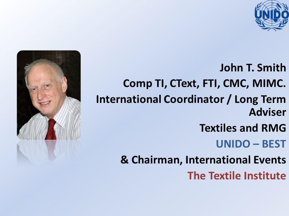 John T.Smith Comp TI, CText, FTI, CMC, MIMC.