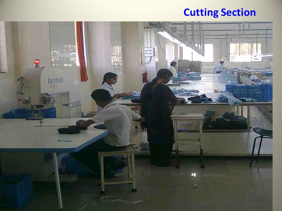 Cutting Section