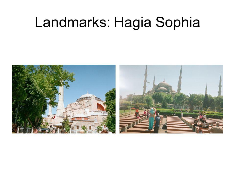 Landmarks: Hagia Sophia