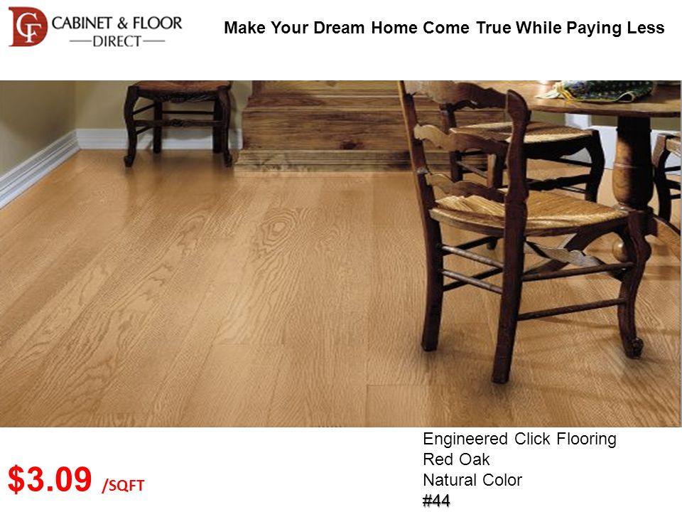 Make Your Dream Home Come True While Paying Less Solid Wood Flooring Brazilian Walnut Brown Color#41 $4.49 /SQFT