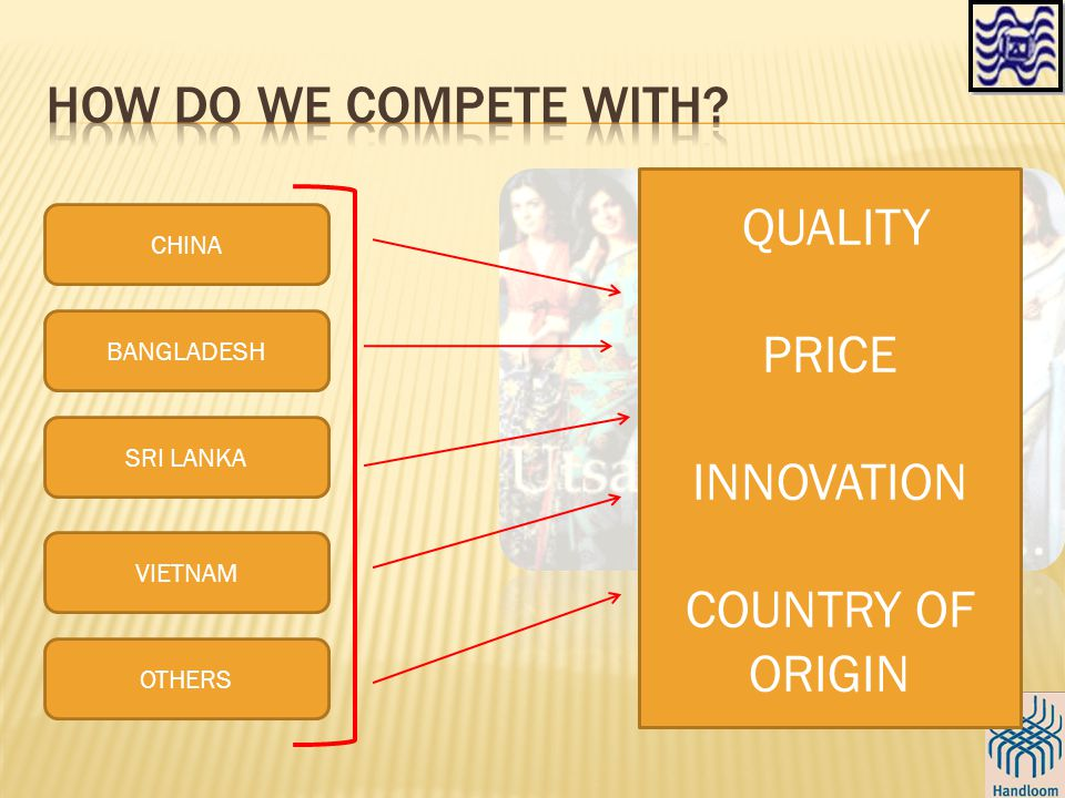 CHINA BANGLADESH SRI LANKA VIETNAM OTHERS QUALITY PRICE INNOVATION COUNTRY OF ORIGIN