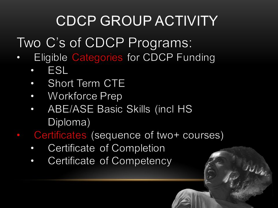 CDCP GROUP ACTIVITY