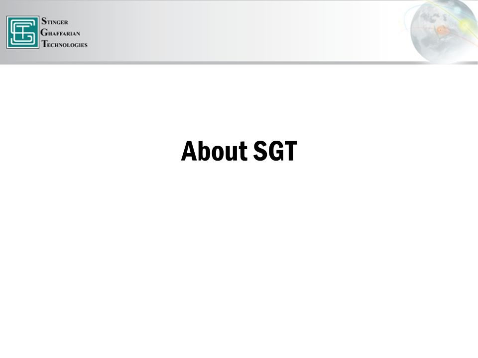 About SGT