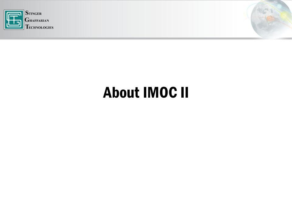 About IMOC II