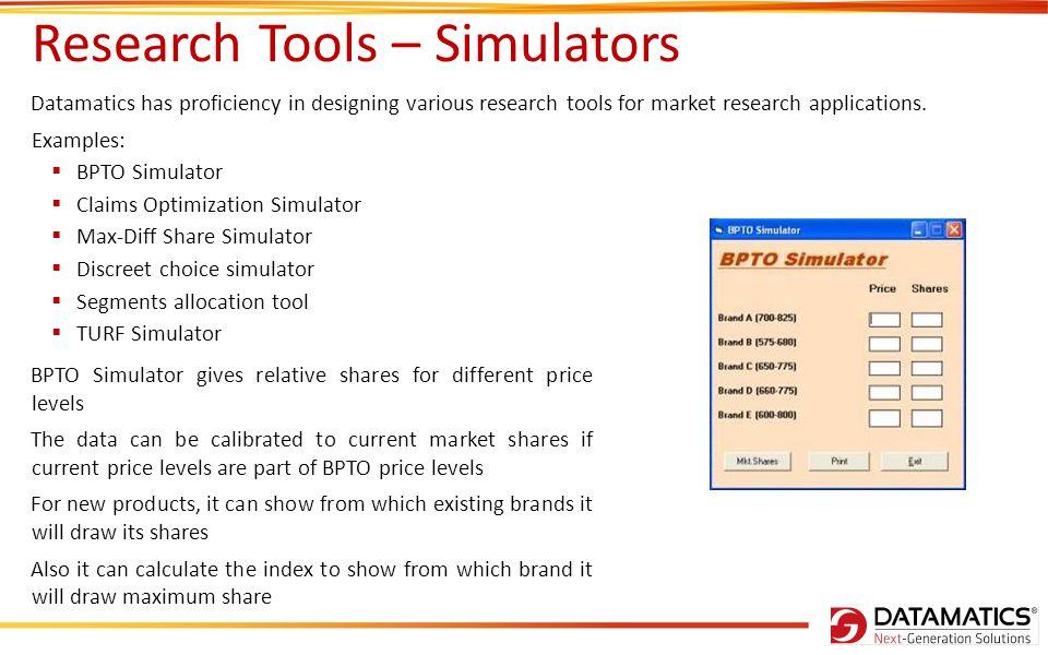 Maxdiff Simulators 10 Output