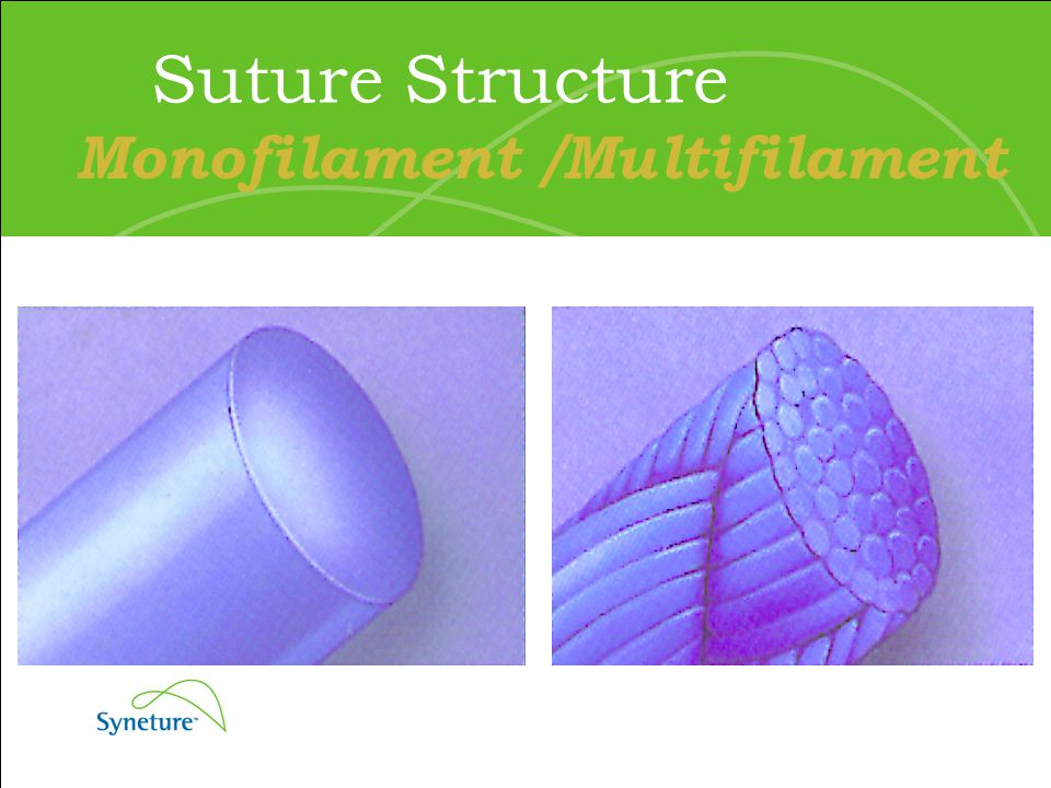 Suture Structure Monofilament /Multifilament
