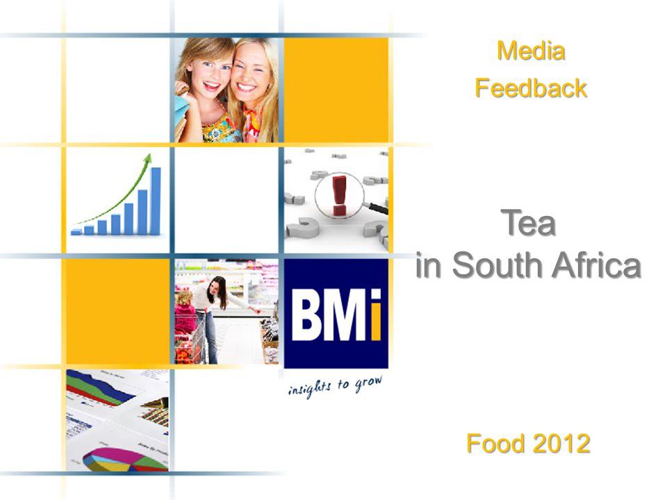 MediaFeedback Tea in South Africa Food 2012