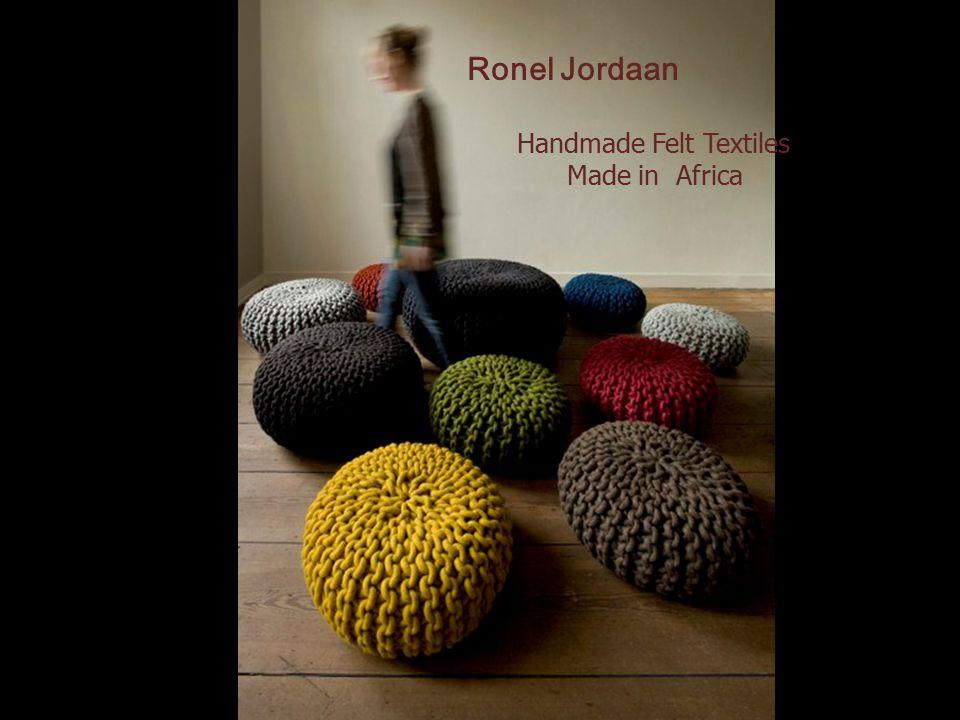 Ronel Jordaan Handmade Felt Textiles Made in Africa