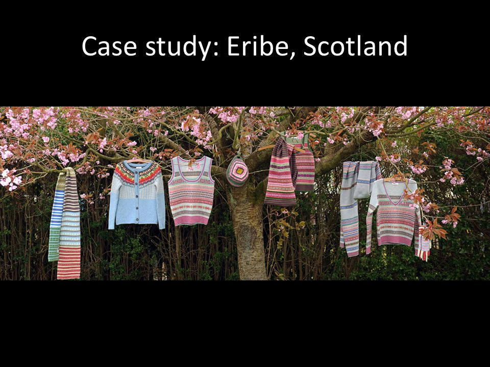 Case study: Eribe, Scotland