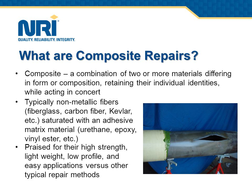 What are Composite Repairs.
