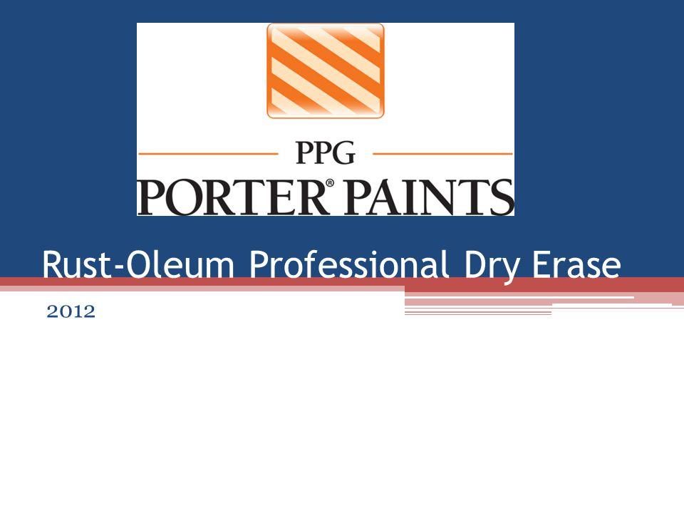 Rust-Oleum Professional Dry Erase 2012