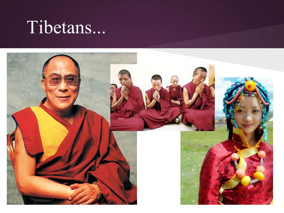 Tibetans...