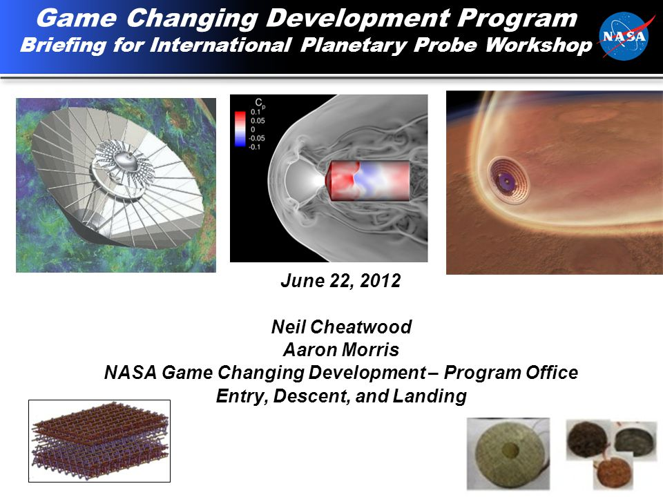 2 Agenda GCD Mission Technology Development Process Streamlined Documentation and Reporting Examples of current projects Examples of collaboration What the future holds