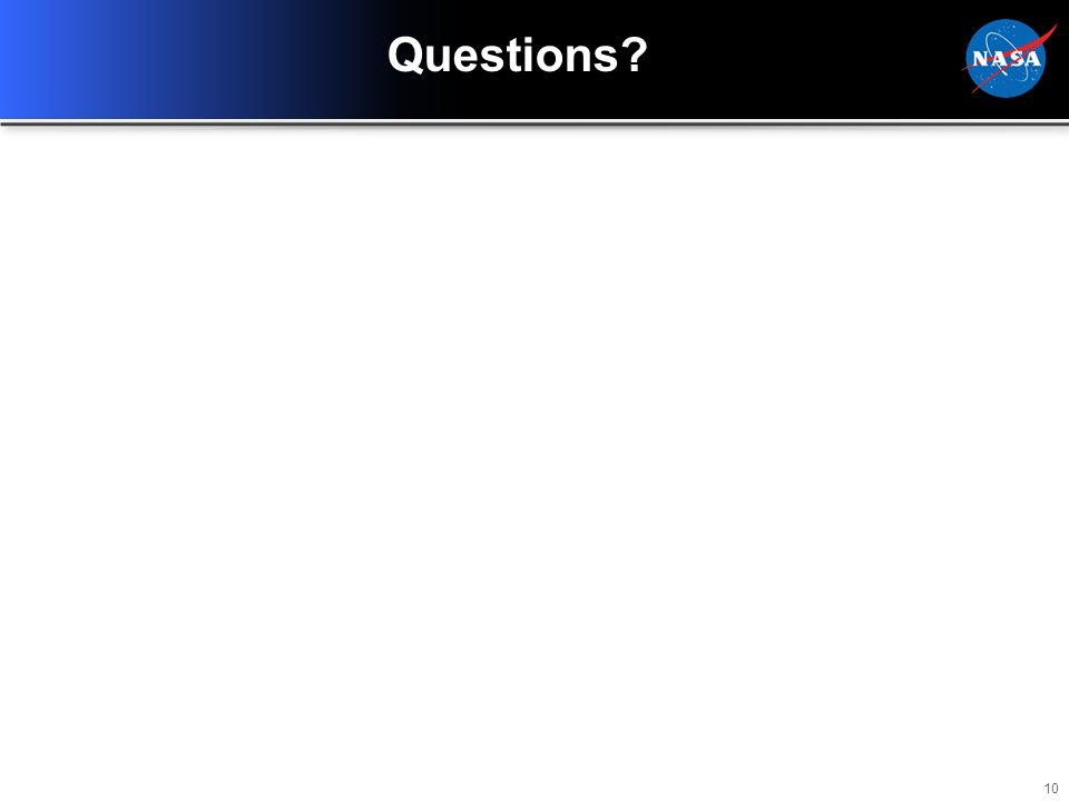 10 Questions?