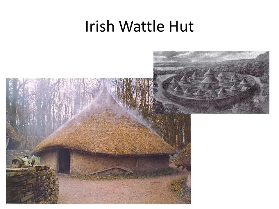Irish Wattle Hut