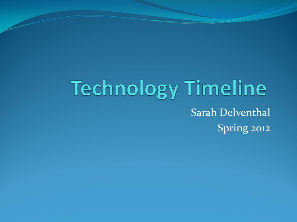 Sarah Delventhal Spring 2012