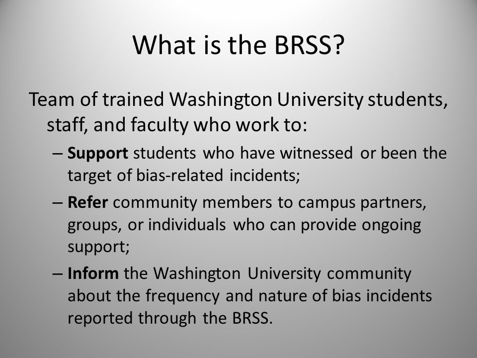What is the BRSS.