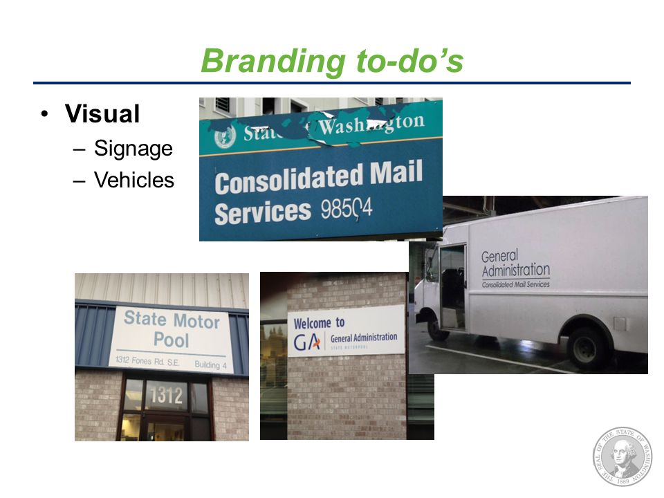 Visual –Signage –Vehicles Branding to-do's