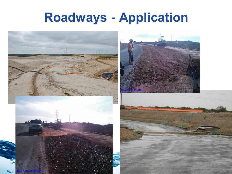 Stormwater Roadways - Application
