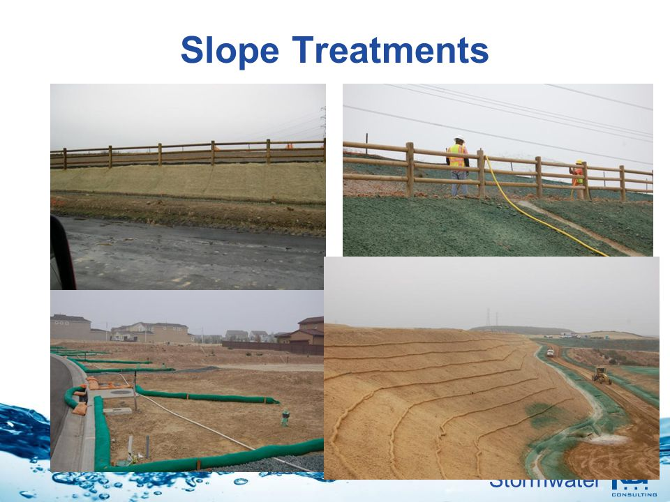 Stormwater Slope Treatments
